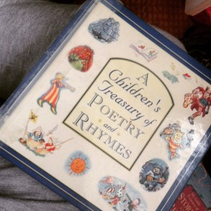 This is the one that I loved mum to read to me the most, the rhymes and the way she read them made child-me crack up everytime, the Edward Lear stuff was our favourite.